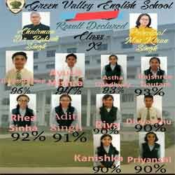 Green Valley English School proudly announces class X 2019-20 result declared by CBSE